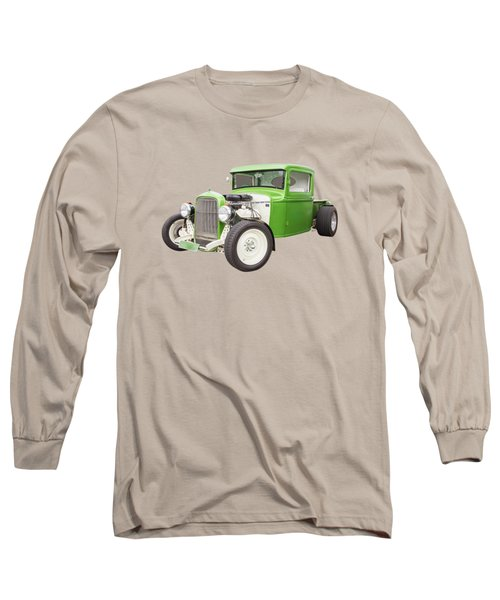 Little Green 32 Long Sleeve T-Shirt by Keith Hawley
