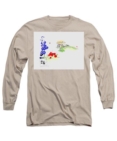 Little House And Garden Long Sleeve T-Shirt