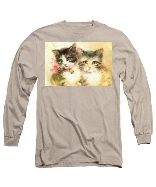 Little Kittens Long Sleeve T-Shirt
