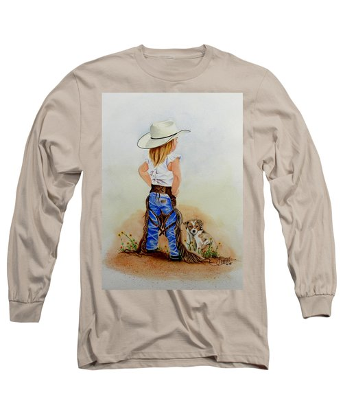 Little Miss Big Britches Long Sleeve T-Shirt