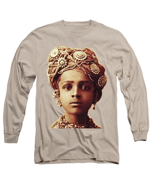 Little Prince Long Sleeve T-Shirt by Asok Mukhopadhyay