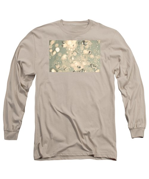 Long Sleeve T-Shirt featuring the photograph Living Water by The Art Of Marilyn Ridoutt-Greene