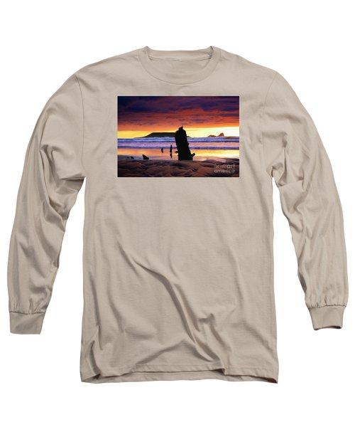 Llangennith Helvetia Wreck Long Sleeve T-Shirt
