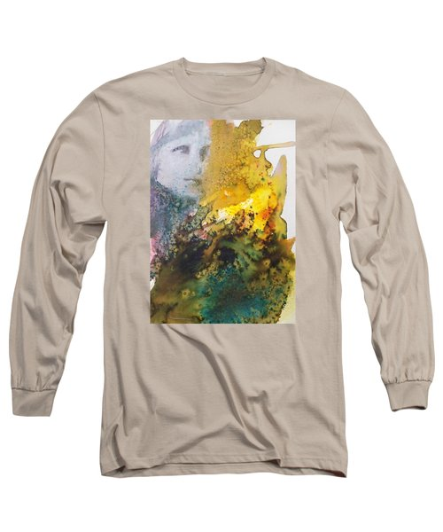 Long Sleeve T-Shirt featuring the painting Llywelyn From Luxembourg by Ed  Heaton