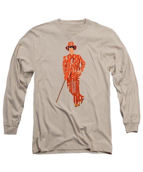 Lloyd Christmas Long Sleeve T-Shirt by Ayse Deniz