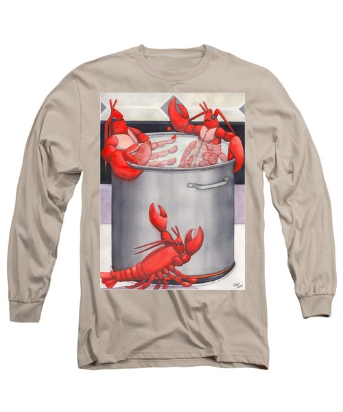 Lobster Spa Long Sleeve T-Shirt
