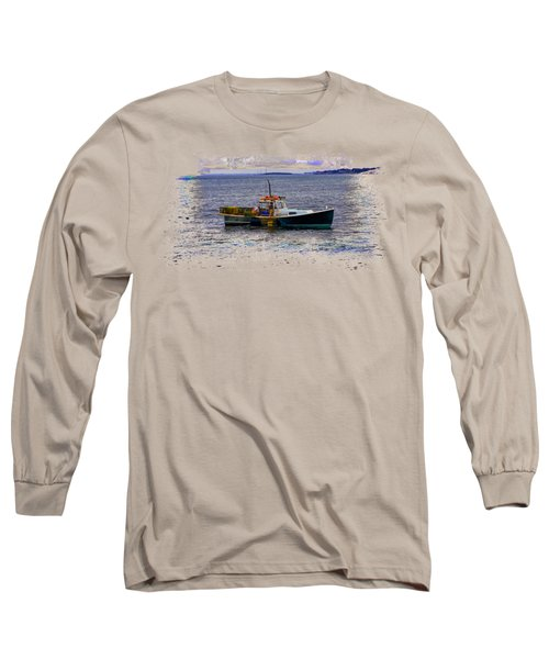 Lobstermen Long Sleeve T-Shirt by John M Bailey