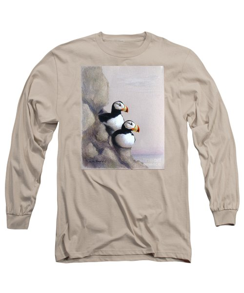 Lofty View Long Sleeve T-Shirt by Phyllis Howard