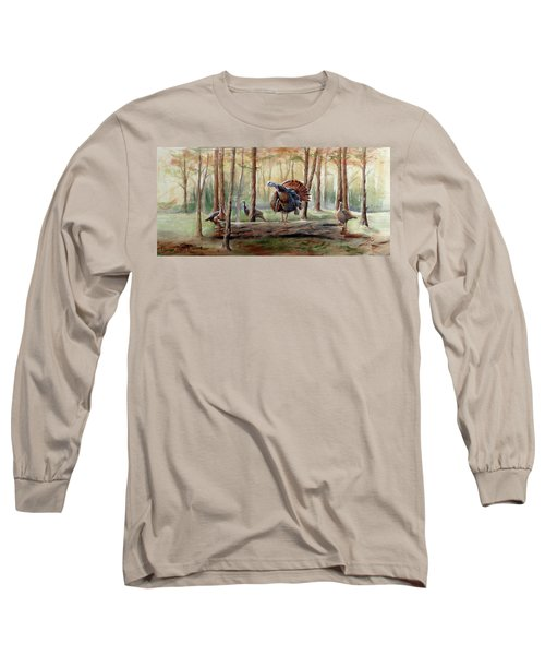 Log Walk Detail Long Sleeve T-Shirt