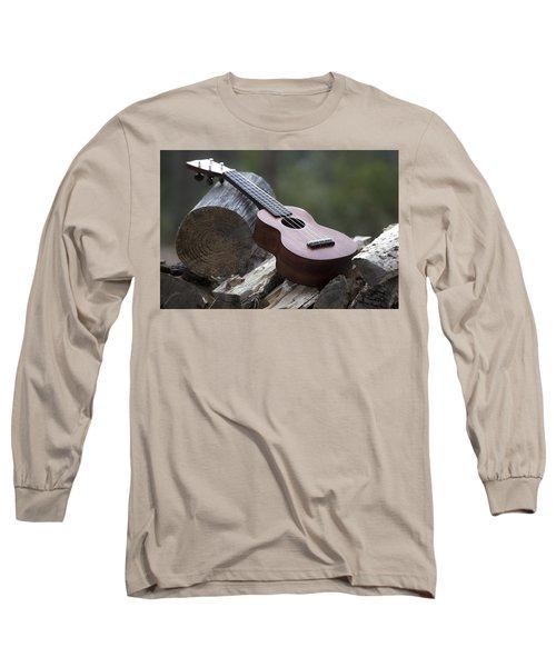 Logpile Ukulele Long Sleeve T-Shirt