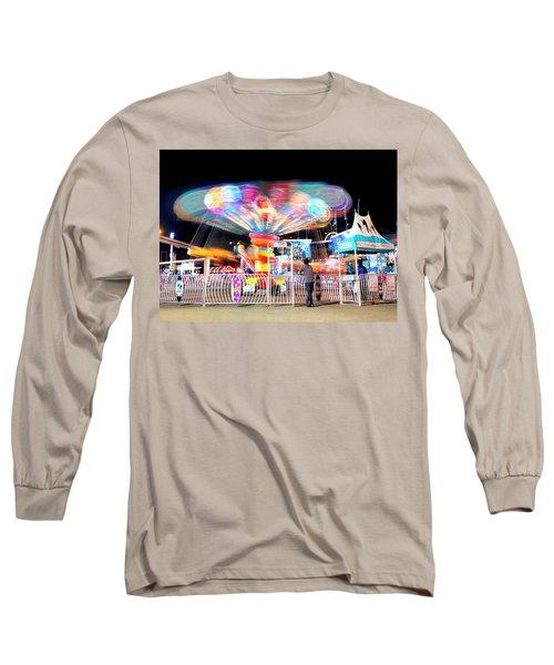 Lolipop Wheel- Long Sleeve T-Shirt