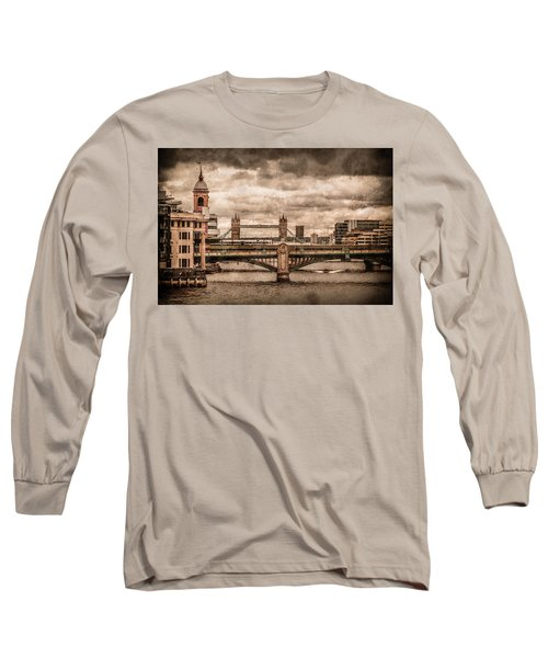 London, England - London Bridges Long Sleeve T-Shirt