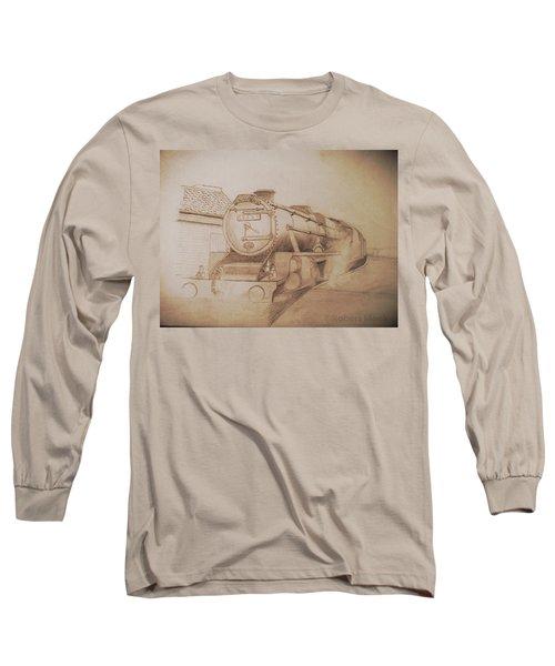 London Steam Locomotive  Long Sleeve T-Shirt