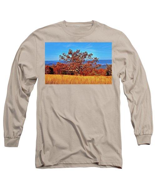 Lone Mountain Tree Long Sleeve T-Shirt