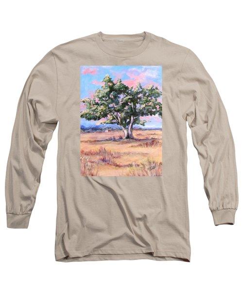 Lone Oak Long Sleeve T-Shirt by Barbara O'Toole