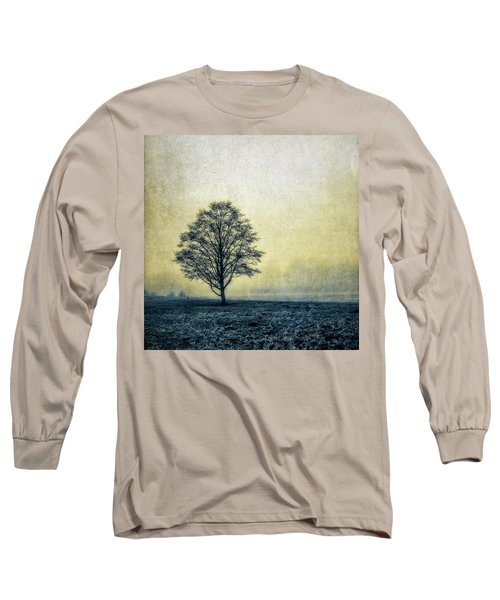 Long Sleeve T-Shirt featuring the photograph Lonely Tree by Marion McCristall