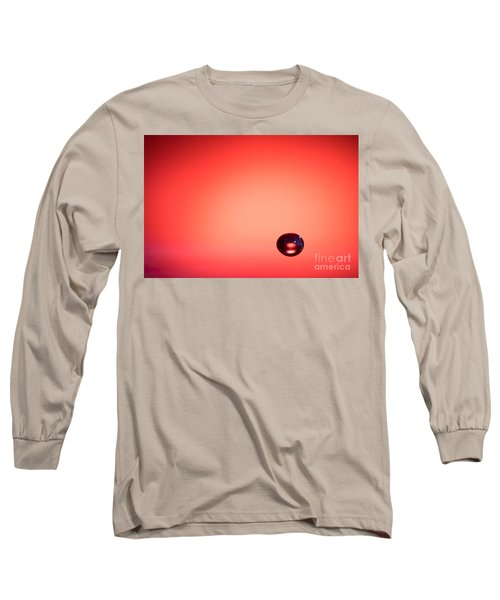 Lonely Water Drop Long Sleeve T-Shirt