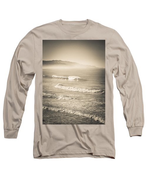 Lonely Winter Waves Long Sleeve T-Shirt