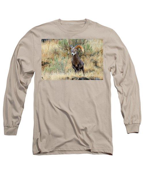 Loner IIi Long Sleeve T-Shirt by Steve Warnstaff