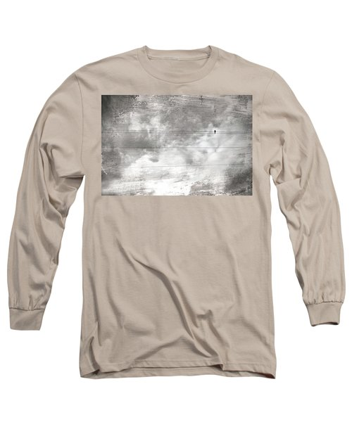 Long Sleeve T-Shirt featuring the painting Lonesome Dove by Gray  Artus