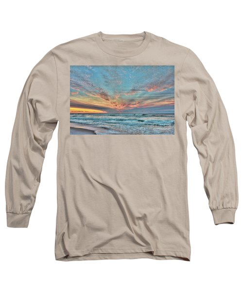 Long Beach Island Sunrise Long Sleeve T-Shirt