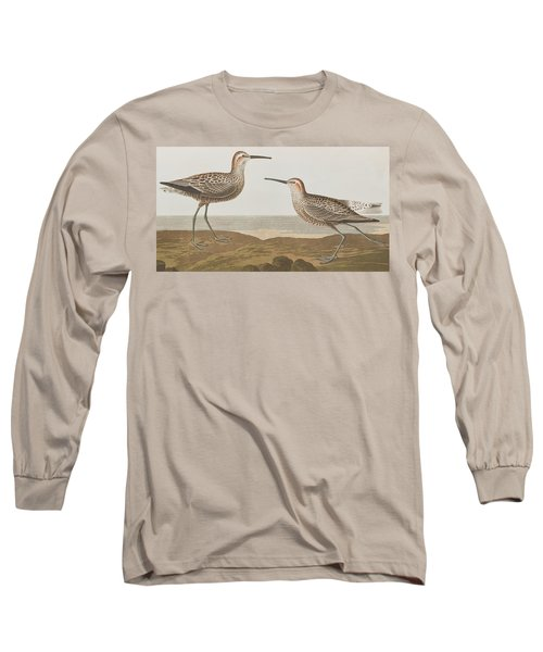 Long-legged Sandpiper Long Sleeve T-Shirt