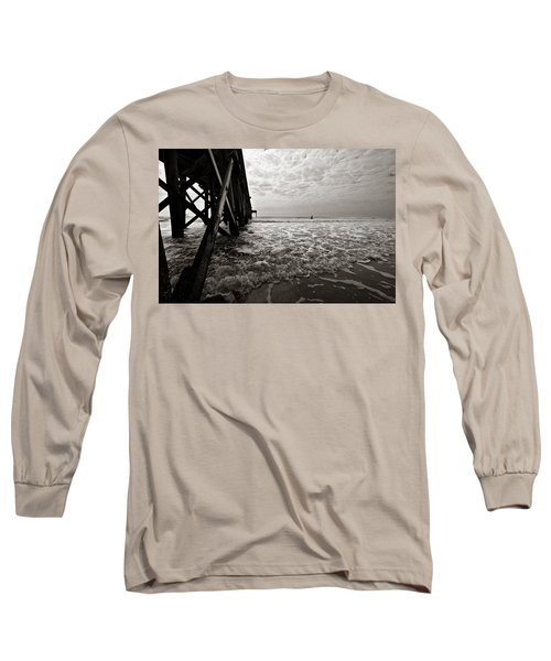 Long To Surf Long Sleeve T-Shirt by David Sutton