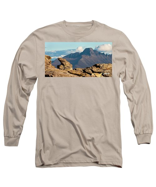 Long's Peak View Long Sleeve T-Shirt