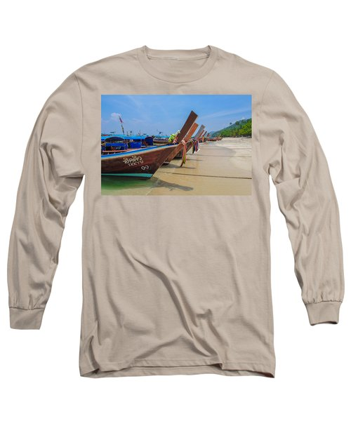 Longtails Await Long Sleeve T-Shirt