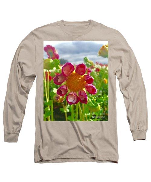 Look At Me Dahlia Long Sleeve T-Shirt