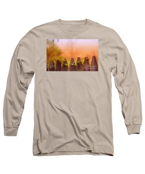 Long Sleeve T-Shirt featuring the photograph Look Beyond The Boundary by Rima Biswas
