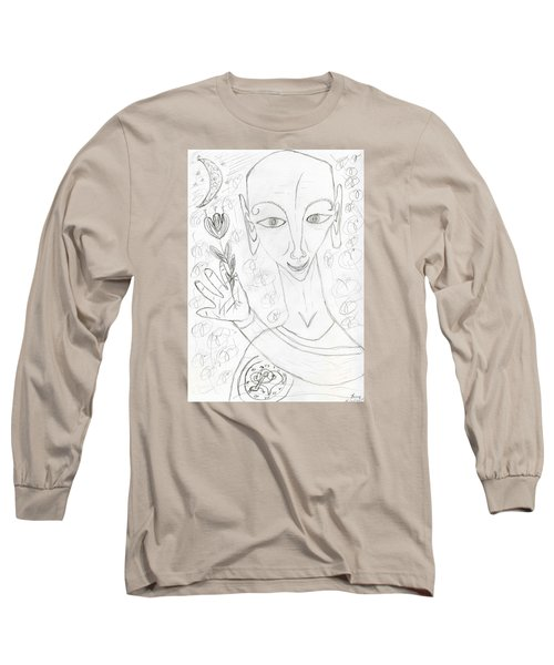 Look Into My Eyes. Love Long Sleeve T-Shirt