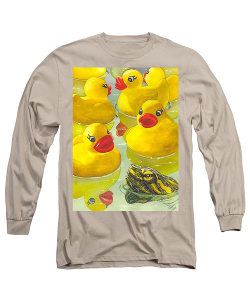 Look Its A Turtle Head Long Sleeve T-Shirt