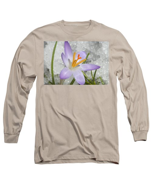 Long Sleeve T-Shirt featuring the digital art Look To The Sun by Barbara S Nickerson