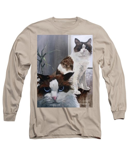 Look Who Is Grumpy Now Long Sleeve T-Shirt by Diane Daigle