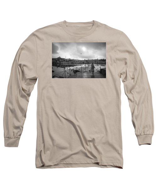 Looking And Passing By Long Sleeve T-Shirt