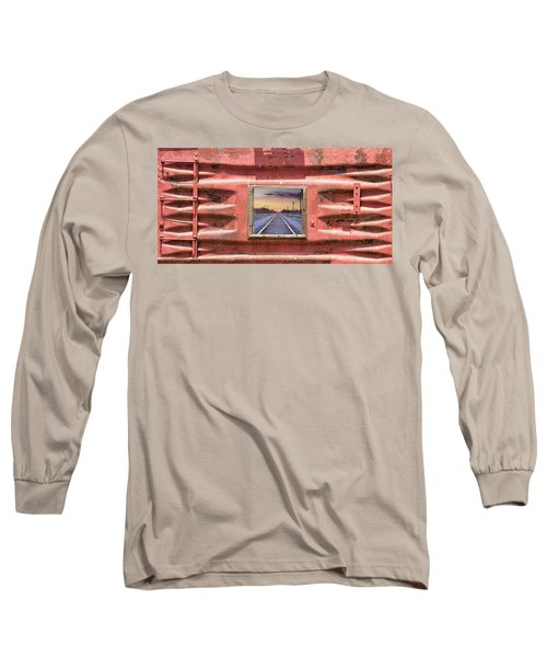Long Sleeve T-Shirt featuring the photograph Looking Back by James BO Insogna