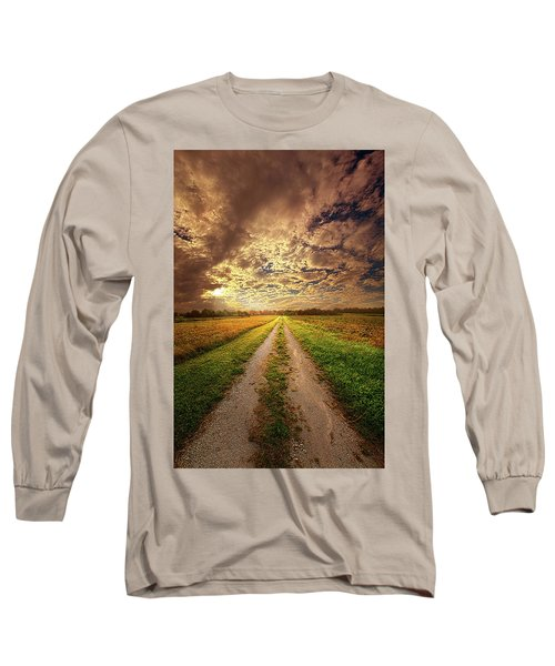 Long Sleeve T-Shirt featuring the photograph Looking Back On The Memory Of by Phil Koch