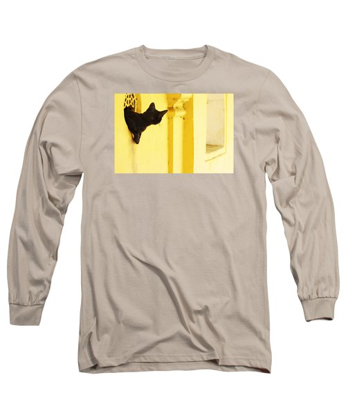 Looking For Mouse Long Sleeve T-Shirt by Prakash Ghai