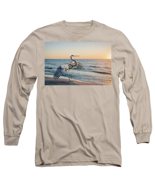 Looking For Supper Long Sleeve T-Shirt by Brian Tarr