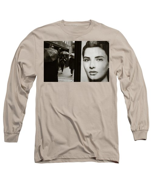 Long Sleeve T-Shirt featuring the photograph Looking For Your Eyes by Empty Wall
