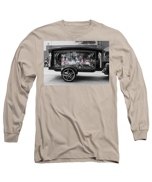 Looking Through The Glass Carriage Long Sleeve T-Shirt