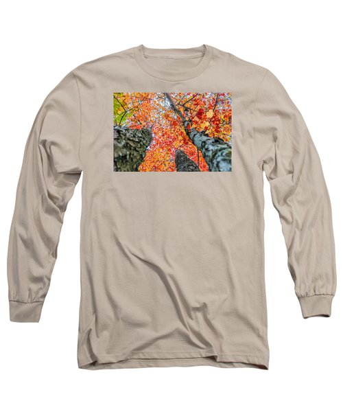 Looking Up - 9743 Long Sleeve T-Shirt by G L Sarti
