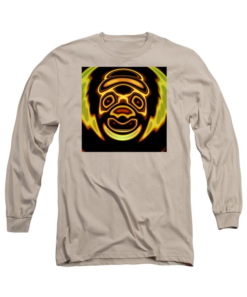 Long Sleeve T-Shirt featuring the digital art Looming Sorrows by Mario Carini