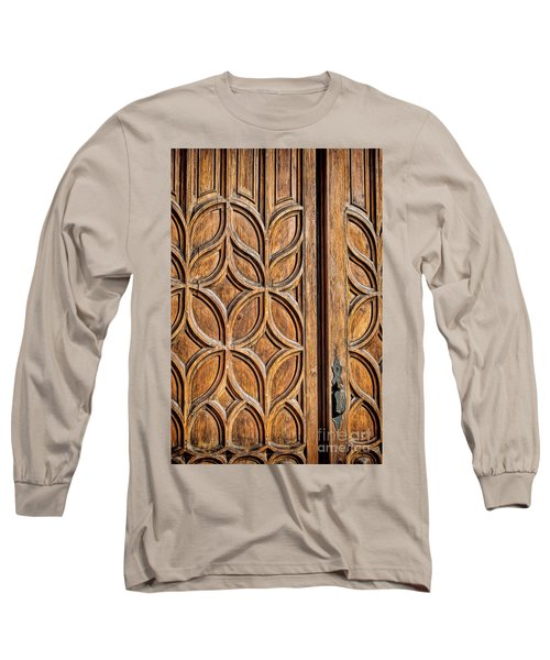 Long Sleeve T-Shirt featuring the photograph Loretto Doorway by Gina Savage