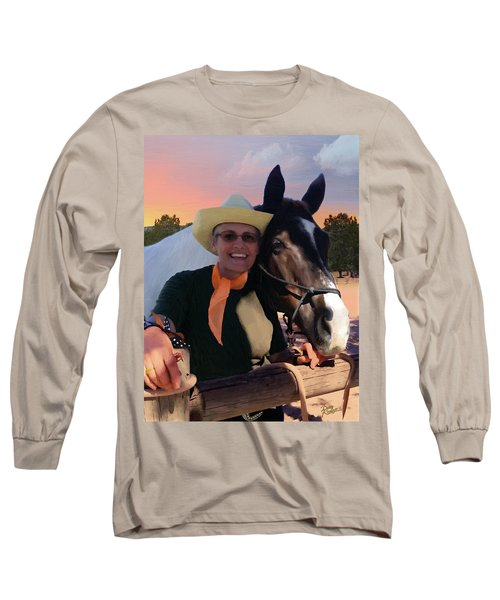 Lori And Paco Long Sleeve T-Shirt by Doug Kreuger