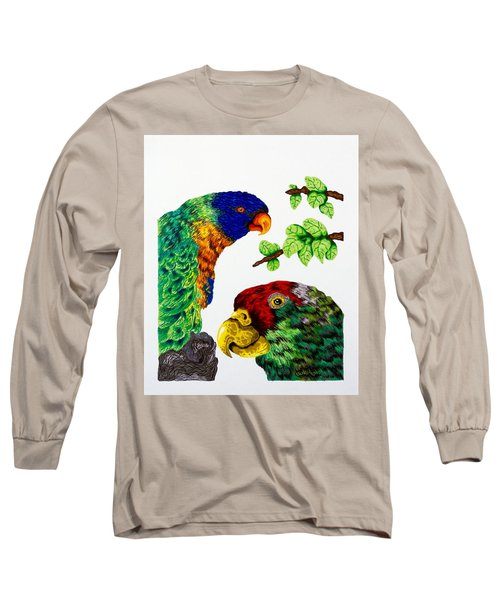 Lorikeets Long Sleeve T-Shirt