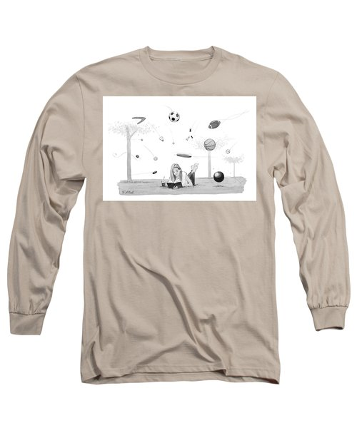 Lost In A Book Long Sleeve T-Shirt