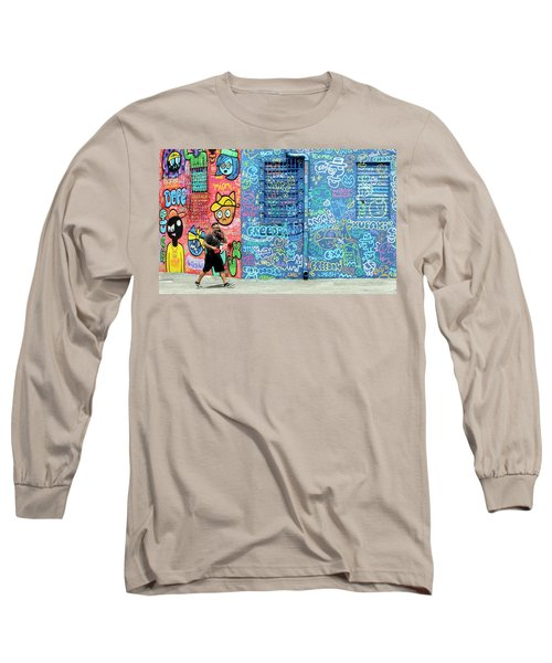 Lost In Translation Long Sleeve T-Shirt by Keith Armstrong