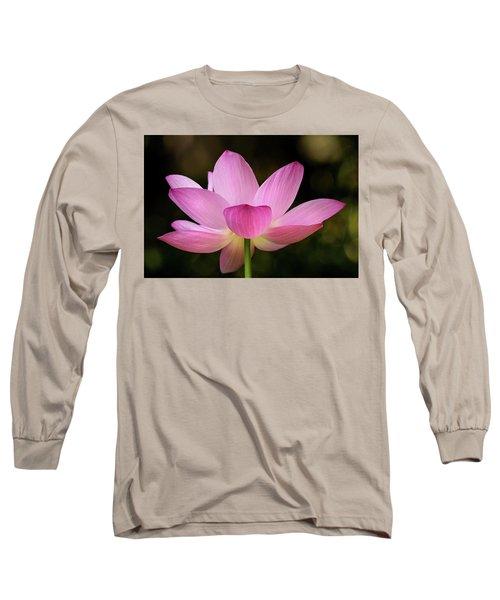 Lotus At The National Zoo Long Sleeve T-Shirt